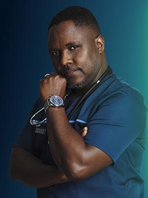 Dr Thabo Dlamini Played by: Meshack Mavuso