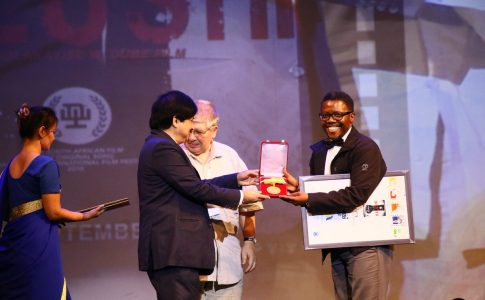 Actor Spaces THABO RAMETSI SCOOPS BEST ACTOR AT DFF INDIA