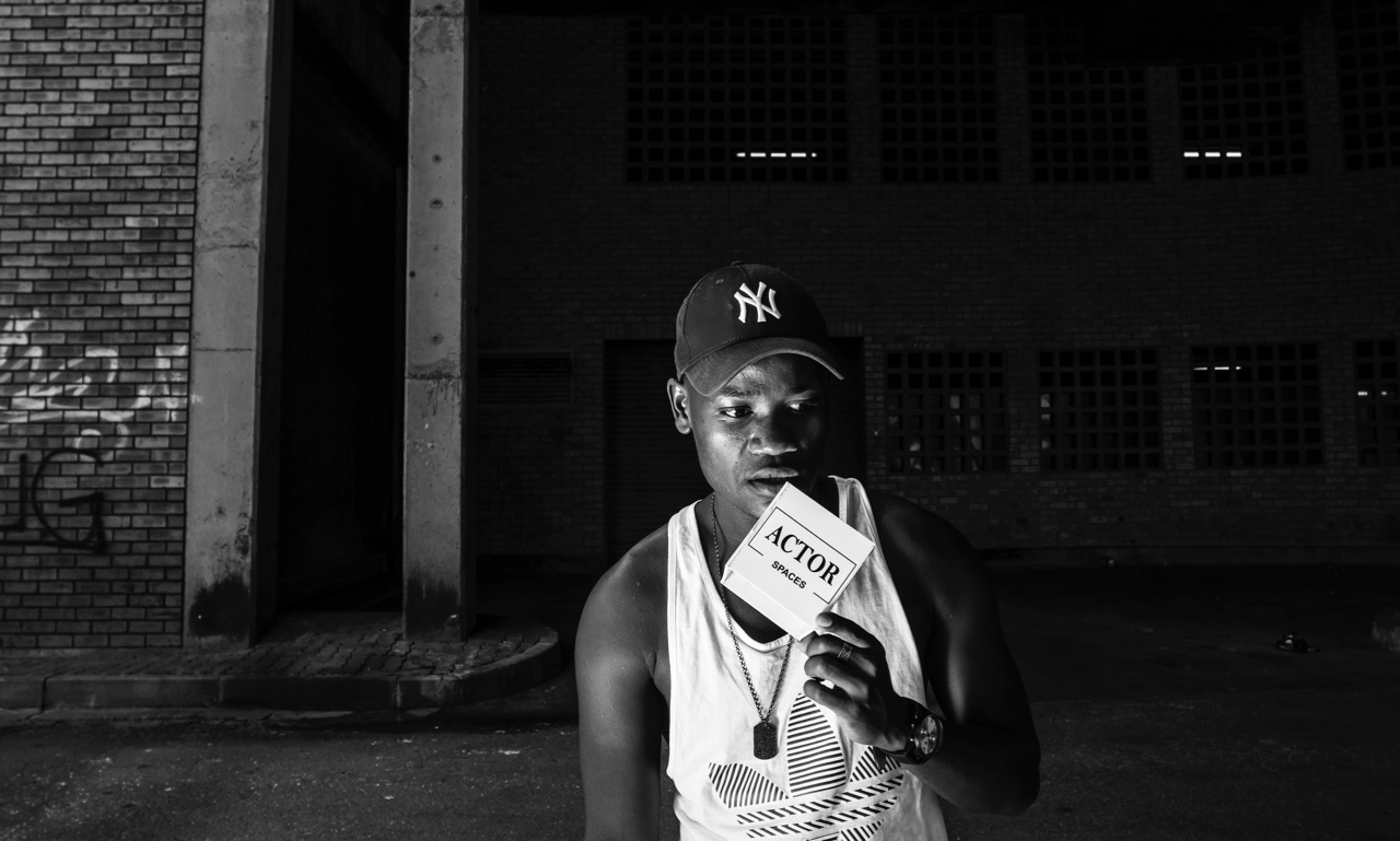 ACTOR SPACES | CLEMENT MAOSA | PORTRAITS